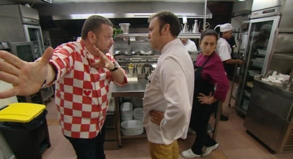 El chef Alberto Chicote grabó su 'Pesadilla en la Cocina' en Guadalajara.