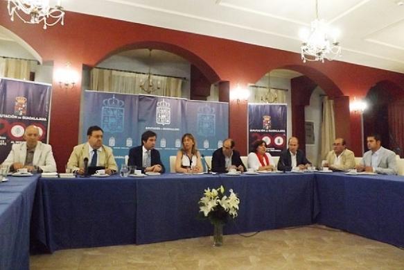 Rueda de prensa de balance del mandato en la Diputación. // Foto: www.guadaque.com