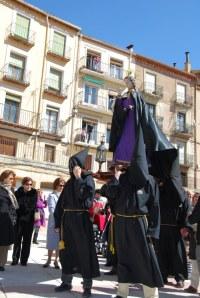 La Semana Santa en Molina de Aragón es sobria y castellana.