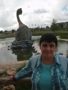 La periodista alcarreña Ana María Ruiz.