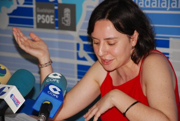 Araceli Martínez, en su época de diputada regional (2007-2011) // Foto: PSOE