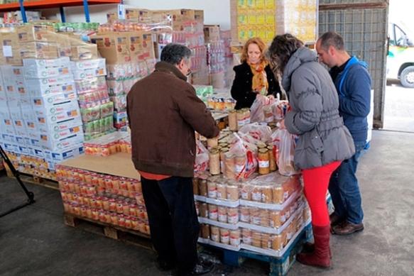 La recogida de alimentos en Guadalajara de finales de noviembre se saldó con casi 50.000 kilos en Guadalajara. // Foto: Guadaqué.