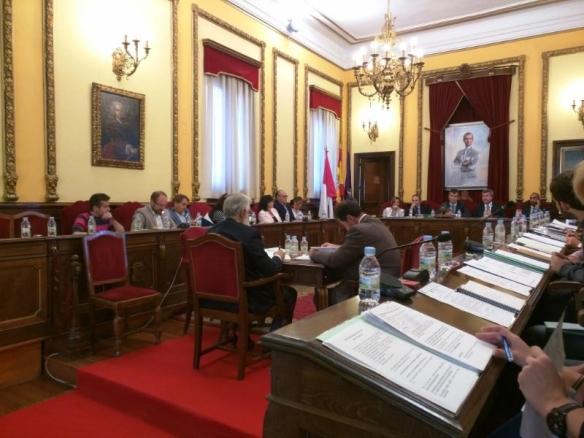 Imagen del pleno del pasado 2 de octubre, en el que se aprobó el proceso de presupuestos participativos. // Foto: Ciudadanos