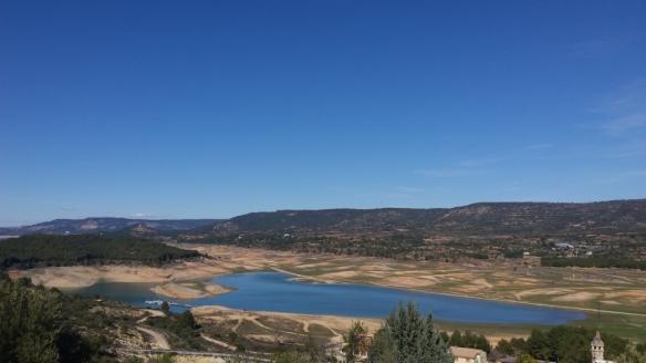 El pantano de Entrepeñas, en una imagen reciente. // Foto: Encastillalamancha.es