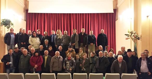 Reunión del Partido Popular de Guadalajara con los municipios de la comarca molinesa en Santa María del Conde, el 30 de Noviembre //Foto: Henares al Día